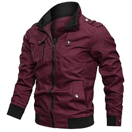 N\P Chaqueta de los hombres de los deportes ocasionales chaqueta militar chaqueta de los hombres de la motocicleta abrigo