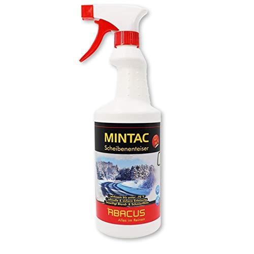 ABACUS MINTAC 750 ml Konzentrat -70°C - Scheibenenteiser Scheibenreiniger Frostschutz (4096)