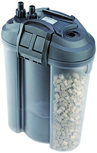 EDEN 57287 522 Außenfilter 23 W 1.000 l/h - Mit Regelheizer zur Filterung, Reinigung, Aufbereitung und Heizung von Aquarien, Montage an bis zu 300 l Süßwasser- und Meerwasseraquarium