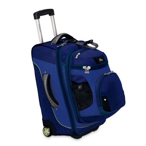 High Sierra AT3 Rolling Backpack, 22-Inch, Black