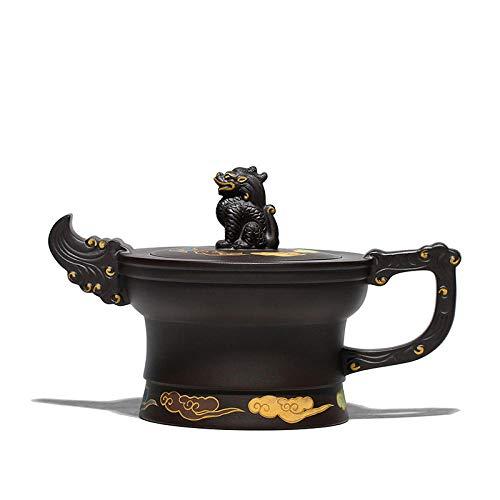 Hecha A Mano Zisha Tetera Purple Clay Teapot Handmade Clay Painted Teapot Tea Set Original Black Clay Pot