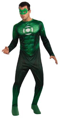 Rubbies - Disfraz de Hal Jordan Linterna Verde para hombre, talla XL (UK 44-52) (889985XL)