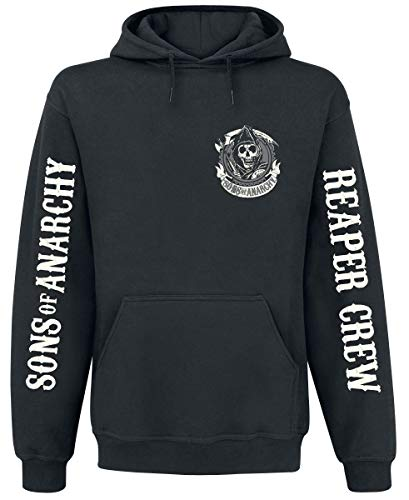 Sons Of Anarchy American Outlaw Sudadera con capucha Negro L