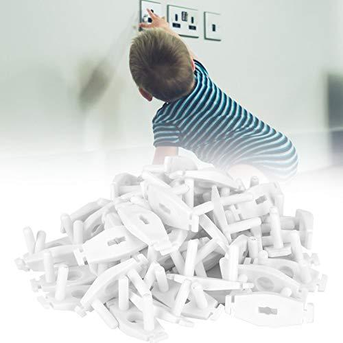 Protector de enchufe de salida, cubierta de enchufe de salida anti-descarga eléctrica duradera para toma de corriente europea para proteger a los niños