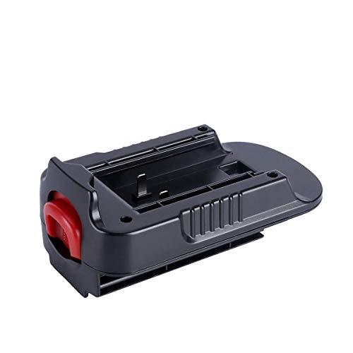 WYZXR Adaptador de batería Adaptador HPA1820 Adaptador de 20V MAX a 18V Adaptador de batería Compatible con Black Decker & Stanley & Porter Cable Convert MH-Ni Batería