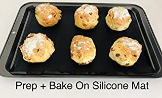 WellBake Silicone Baking Mat (37cm x 27cm). Heavy Duty Non-Stick Silicone Bakeware + 10 Year Guarantee (B000P6Q6ZM) | Amazon price tracker / tracking, Amazon price history charts, Amazon price watches, Amazon price drop alerts