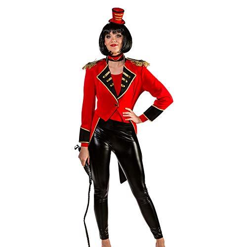 PARTY DISCOUNT® Damen-Kostüm Zirkusdirektorin Frack, Gr. 42-44