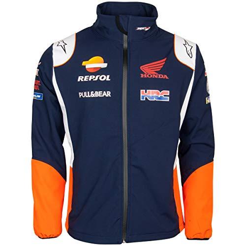REPSOL Chaqueta Softshell Oficial de MotoGP Teamwear Replica