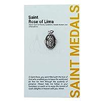 1インチ 聖人と聖人メダル 祈りのカード付き | 25以上の聖人 | 耐久性があり詳細なチャーム | 祈りの言葉が記されたペンダントメダル | キリスト教ジュエリー