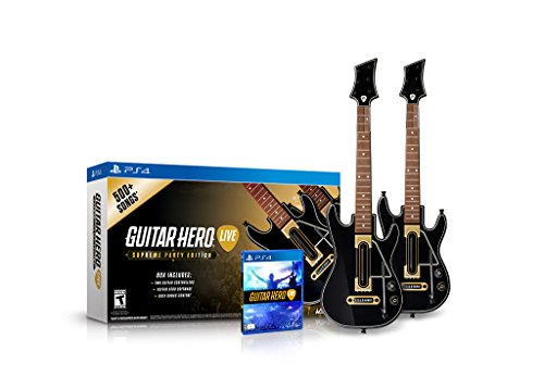 Guitar Hero Live Supreme Party Edition 2 Pack Bundle - PlayStation 4