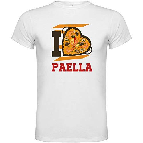 4LL-INK Yo Amo la Paella, Frases, Comida tipica, Cultura Española, Diseño Grafico
