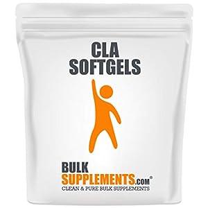 BulkSupplements.com Conjugated Linoleic Acid (CLA) 1000 mg - Weight Loss Pills - Weight Loss Supplements (100 Softgels - 50 Servings)