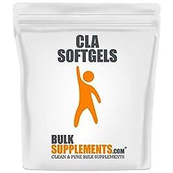 powerful BulkSupplements.com Conjugated Linoleic Acid (CLA) 1000 mg (300 Capsules – 150 Servings)