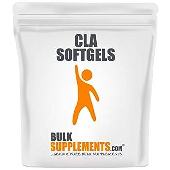 BulkSupplements.com Conjugated Linoleic Acid  CLA  1000 mg - Weight Loss Pills - Stomach Fat Burner  300 Softgels - 300 Servings