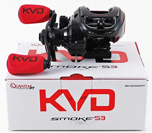 Quantum KVD Smoke S3 SKVD100XPT 8.1:1 Baitcast Reel Right Hand