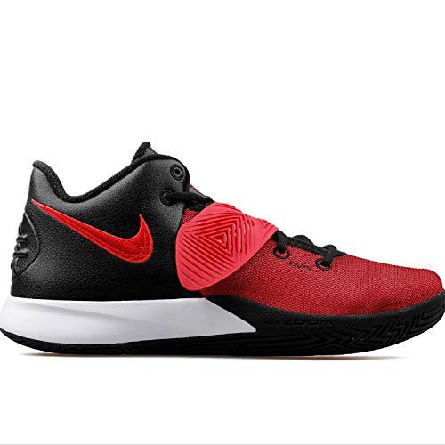 Nike Mens Kyrie Flytrap III Basketball Shoe, Black/University RED-Bright Crimson