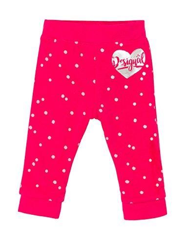 Desigual Pant_ahslan Pantalon De Sport, Rose (Fucsia 3002), 86 (Taille Fabricant: 24) Bébé Fille