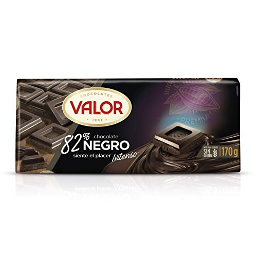 Chocolates Valor Chocolate 82% Cacao, 170g