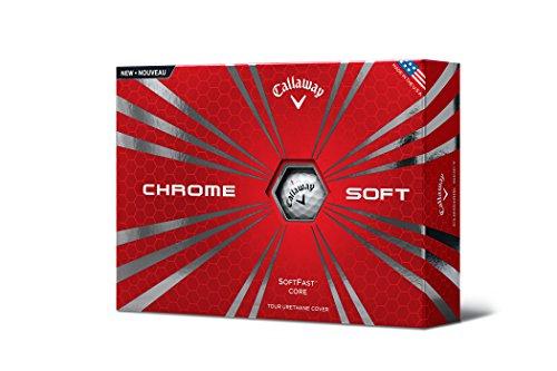 Callaway Chrome Soft 2015 Golf Balls, White