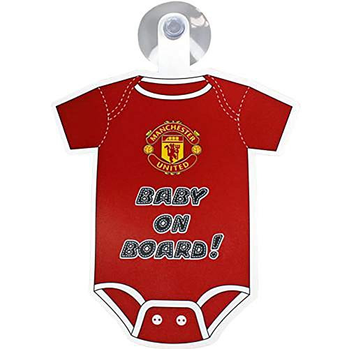 Official Licensed Manchester United F.C - Baby on Board Sign
