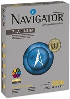 Navigator Platinum Paper PAPER,32#,99BR,250SH,BRW 26302 (Pack of2)