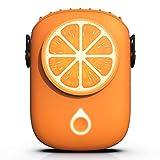 Mini ventilateur, ventilateur portable à suspendre, avec batterie rechargeable USB, convient pour le bureau, l'extérieur, la maison, les voyages (3 vitesses).