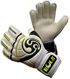 Blok-IT Goalie Gloves. Fingersave Goalkeeper Gloves for Soccer. Kids, Youth & Adult Sizes. Make The Toughest Saves - Extra Protection, Padding & Reduced Chance of Injury.