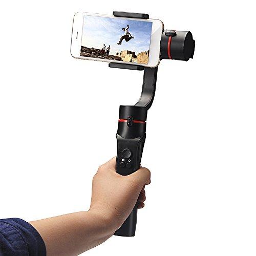 Steadygo smartphone stabilizzatore Gimbal–Hinmay motorizzato batteria a assi Handheld giunto cardanico per fotografia digitale e liscio, Steady Advanced tecniche di riprese video