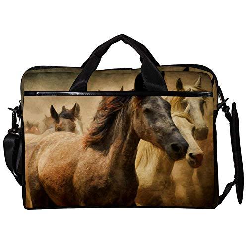 Vockgeng Energetisiert 15 Zoll Laptop Schutzhülle Tasche, Ultrabook Notebook Tragetasche Handtasche Schulter Umhängetasche für MacBook Pro, MacBook Air