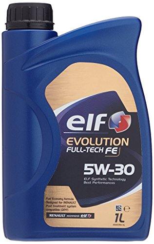Elf evolution Full-Tech FE 5W-30 motorolie voor Renault (DPF) 1 ltr. Olie RN 0720