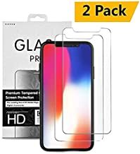 iPhone 11 Pro Max, XS Max Screen Protector 6.5 inch, Schwaye Tempered Glass Screen Protector with Nano Glass, Tempered Glass 0.33mm Anti Scratch Advanced HD Clarity Work with Most Case {2 Packs}