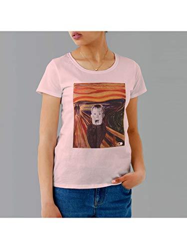 Camiseta Esqueceram de Mim o Grito Feminina (M, Rosa)