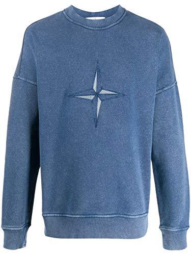 Stone Island Luxury Fashion Herren 721566254V0028 Blau Baumwolle Sweatshirt | Frühling Sommer 20