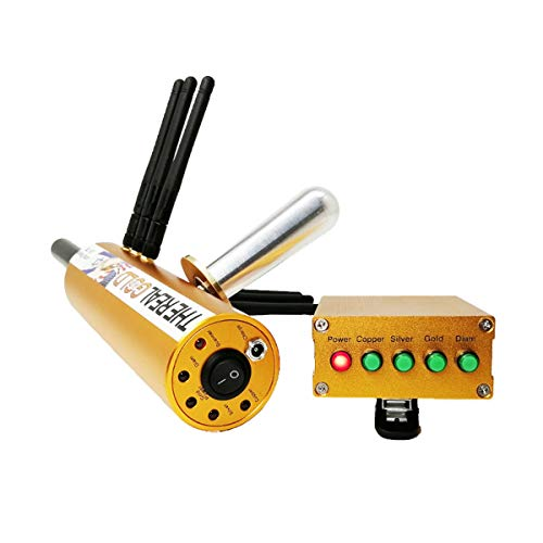 HBHHB AKS Intelligent Metal Detector Pinpointer Remote Search with 6 Antennas High Sensitivity Lightweight Gold Detector with Tool Box to Hunt Treasure,Gold