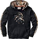 Legendary Whitetails Men's Standard Camo Outfitter Hoodie, Onyx, X-Large