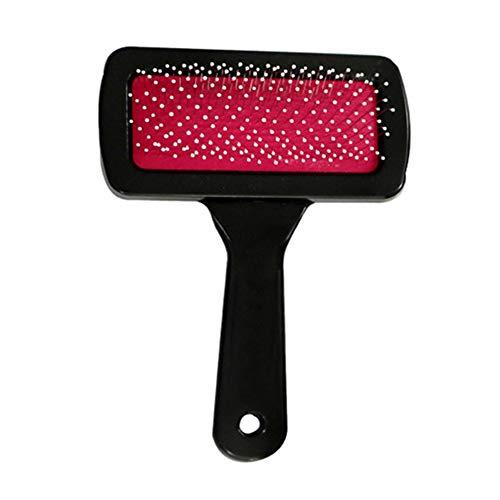 Etophigh Pet Massage Comb, Pflegewerkzeug Edelstahl Shedding Rake für Hunde und Katzen, leicht zu Haar Knoten und lose Haare Reinigungsbürste zu entfernen
