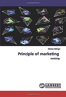Principle of marketing: markting