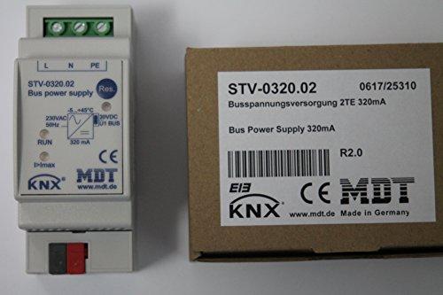 MDT TECHNOLOGIES Netzteil Spannungsversorgung EIB KNX STV-0320.01 REG 320mA