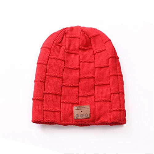 Sombrero de señora Beret estilo francés Bluetooth Beanie Wireless Bluetooth Hat con...