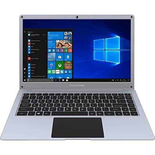 Thomson NEO14A-4SL64 Ordinateur Portable 14, 1' SILVER - Windows 10 Home - Processeur Intel Atom - 4 Go de RAM - 64 Go de stockage - écran HD