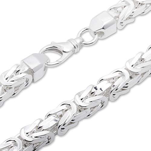 925 Silberkette: Königskette Silber 12mm breit - Länge frei wählbar KK0120