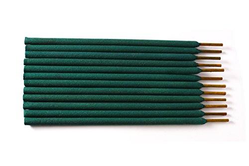 Mosquito Guard Bâtonnets d'encens bâtonnets répulsifs - 100% Tous Les encens insectifuge Naturel - 12' encens de Bambou infusé à la citronnelle