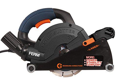 FERM WSM1008 Amoladora de Pared (1600 W, 230 V)