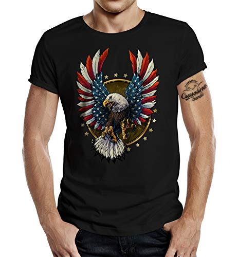 T-Shirt für USA Fans: US Eagle XL