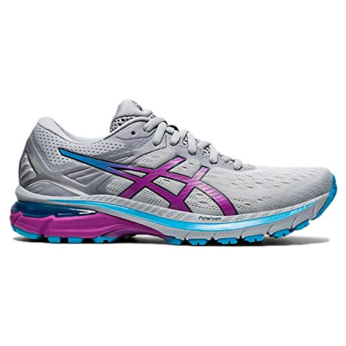 Asics GT-2000 9, Zapatillas para Correr Mujer, Piedmont Grey/Digital Grape, 43.5 EU