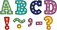 "Teacher Created Resources Magnetic Alphabet-3"" Bold Block, Multi Marquee"