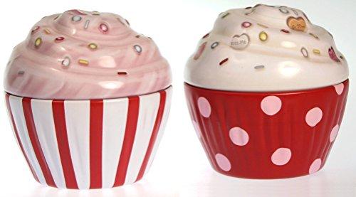 Blechdose Keksdose und Deko Box Retro Cupcake Muffin