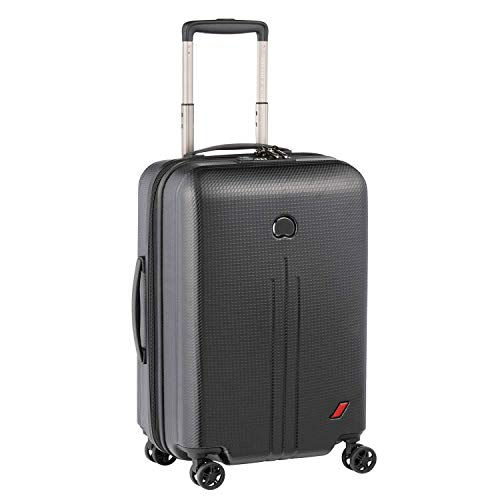 DELSEY(デルセー) スーツケース sサイズ 機内持ち込み キャリーケース mサイズ/lサイズ 軽量 大型 100%PC素材 軽量 NEW ENVOL 5年間保証 45L&ブラック