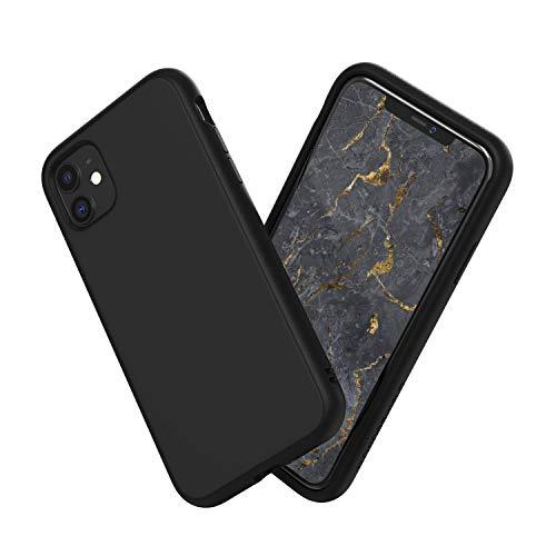 RhinoShield Coque SolidSuit Compatible avec [iPhone 11] - Finition Premium - Noir Classic