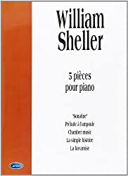 Sheller William 5 Pieces Pour Piano Pf Book